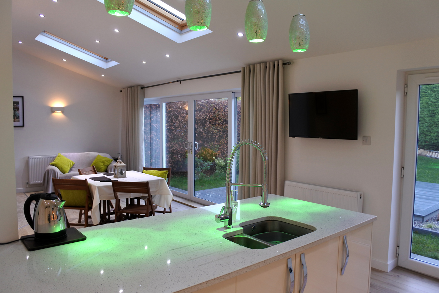 Parklane Estate View of Kitchen